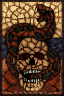 HD Stained Glass Skull Window.png